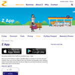 Free Coffee/Hot Drink from Z with App Download