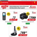 Alcatel Mobile Phone $7, Canon EOS700D $799, Remington Delux Groomer $19 @ Noel Leeming