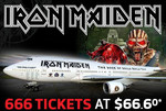 Iron Maiden Ticket $66.60 @ GrabOne ($72.51 with Fees)
