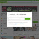 15% off Site Wide at Groupon NZ - $50 Max Discount