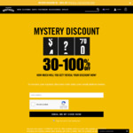 Mystery Discount Code 30-100% off @ Hallenstein Brothers