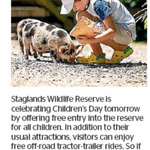 Win 1 of 3 Family Passes to Staglands Wildlife Reserve from The Dominion Post (Wellington)