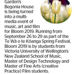 Win 1 of 5 Double Passes to Bloom from The Dominion Post (Wellington)