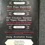Free Unholy Donut with $25 Spend, Free Delivery or Chicken Tenders/Vegan Nuggets with $30 Spend @ Hell Pizza (Dunedin North)