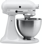 KitchenAid 5KSM45A Classic Stand Mixer Black or White $479 @ Harvey Norman NZ