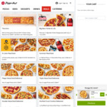 Free Large Crinkle Cut Fries with Any Online Order over $8 @ Pizza Hut