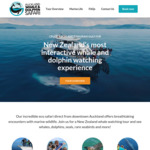10% off Whale and Dolphin Watching Tours @ Auckland Whale & Dolphin Safari