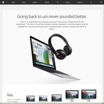 Buy a Mac and Get a Pair of Beats Headphones Free @ Apple - Students Only