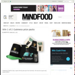 Win 1 of 2 Guinness Prize Packs from Mindfood