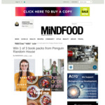 Win 1 of 3 Penguin Random House Book Packs from Mindfood