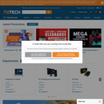 Free Shipping over $20 Spend (Excludes Bulky, Oversized & Rural Shipping) @ PB Tech