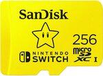 MicroSD Card Sale (Samsung, SanDisk, Lexar) e.g Sandisk 256GB MicroSD for Nintendo Switch NZ$84.97 Shipped @ Amazon US