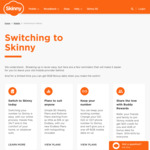 Free 8GB Data When You Switch Your Mobile Number (For $16 Plans or Above) @ Skinny