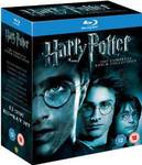 Harry Potter Complete 8-Film Collection (Blu-Ray) £17.74/NZD $35.50 Delivered @ Amazon UK