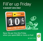 BP Friday: Save 10c/Litre on Fuel (Min Spend $40) @ AA Smartfuel