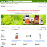 15% off all Now Foods products at iHerb