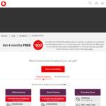 4 Months Free Broadband + 12 Months Neon + $50 Prezzy Card @ Vodafone