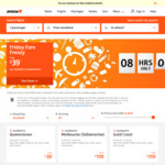 Jetstar One Way Flights: Auckland/Wellington to Queenstown $31, Christchurch to Melbourne $109, Auckland to Sydney $125 + more