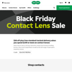 Contact Lenses $50 off $199 + Free Tracked Delivery @ Specsavers