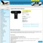 Logitech Brio 4K UHD Webcam - $224.24 Inc AKL Delivery from Aquila Technology