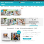 Free 20 Page 13x18cm Softcover Photo Book @ Snapfish (Pay $5.95 Shipping Only)
