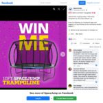 Win a 10 Foot Discovery Trampoline from Space Jump