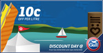 10c Off Fuel @ Gull, Ends 12pm Friday