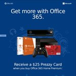 Microsoft Office 365 Personal/Home Premium, 1 Year ($25 Cashback 1st June 2016 to 31st August 2016) ~ $70