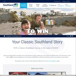 Win a Trip to Southland (Worth $3000) from Southland NZ