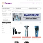 Half Price Shavers, Clippers, Groomers etc @ Farmers