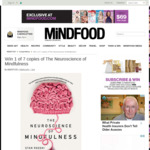 Win 1 of 7 copies of The Neuroscience of Mindfulness from Mindfood