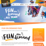 Rainbows End Fun on Demand Unlimited Superpass (Valid until Nov 30) $109 @ Rainbows End