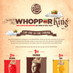 Free Whopper @ Burger King (Need App to Redeem)
