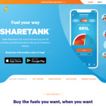 Z App Sharetank - Get The Cheapest Fuel within 30km and Save up to 1000 Litres