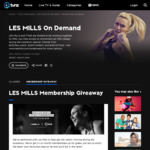 Les Mills 5 x 6mths memberships to giveaway