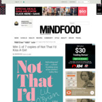 Win 1 of 7 copies of Not That I'D Kiss A Girl from Mindfood