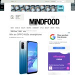 Win an OPPO A53s Smartphone Worth $399 from Mindfood