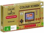 Game & Watch: Super Mario Bros $69 with Price Promise and Giveit Codes ($59 with Zip) @ The Warehouse