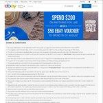 Spend $200 AUD (~$210 NZD) on Anything via eBay.com.au and Receive a $50 AUD (~$52 NZD) eBay Voucher