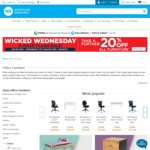 Further 20% Off Furniture at Warehouse Stationery