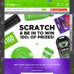 1-Day Scratch & Win: ($5 off Vouchers, etc)