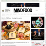 Win 1 of 8 Trio of Cheeses from Mindfood