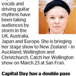 Win a Double Pass to Wallis Bird from The Dominion Post (Wellington)