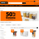 50% off Sistema Containers: e.g. 60L $13.50 ( $12.12 Price Beat @ The Warehouse) @ Mitre 10