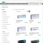 SPECSAVERS - 50% off Contact Lenses Plus FREE Delivery