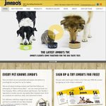 Jimbo's Pet Food (Cat/Dog) $6 Voucher for Joining Mailing List