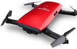 Goolrc T47 6-Axis Gyro Wi-Fi FPV 720P HD Selfie Drone $39.99 USD (~ $56 NZD) Shipped @Rcmoment