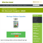 Moringa Oleifera Capsules 3 for $75 @ Herbal New Zealand