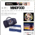 Win 1 of 2 Holiday Rescue Prize Packs (Bag, Towel, etc.) from Mindfood