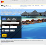 11% off Hotels When Paying by Mastercard + 1000 Expedia Rewards Points @ Expedia NZ